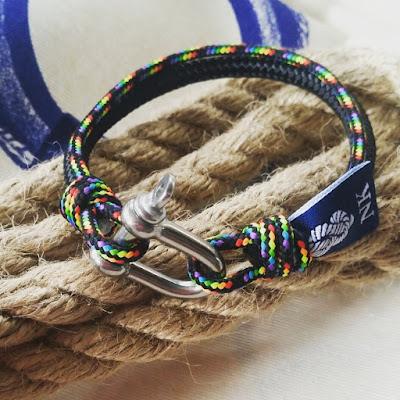 Pulsera Náutica -- Nautical Bracelet
