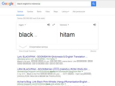 Hal Menarik yang Bisa Di lakukan Google Search - terjemahan