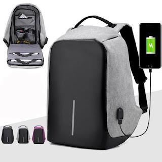 Waterproof School Bag With USB Charging Port
