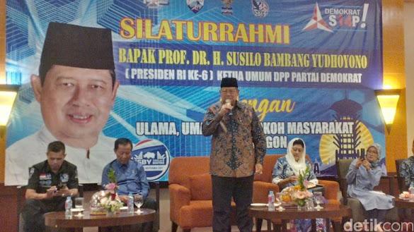 SBY Minta Jokowi Jelaskan dengan Gamblang Jumlah TKA yang Kerja di Indonesia