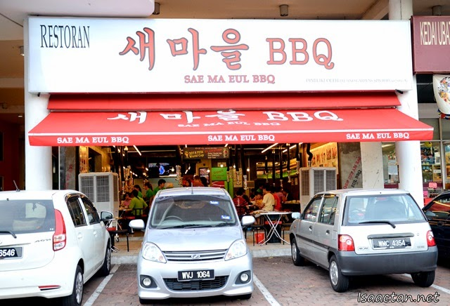 Sae Ma Eul Korean (새마을 BBQ) Restaurant @ PV128 Setapak