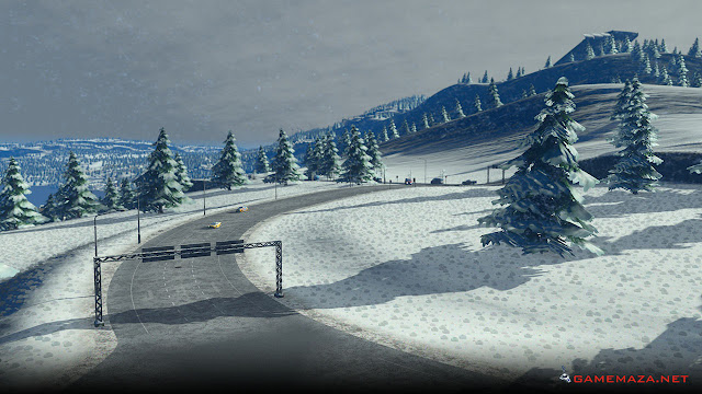 Cities Skylines Snowfall Gameplay Screenshot 3