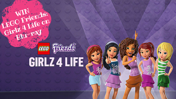 Win LEGO Friends: Girlz 4 Life on Blue-ray