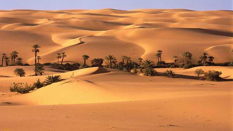 Tempat terpanas - El Azizia
