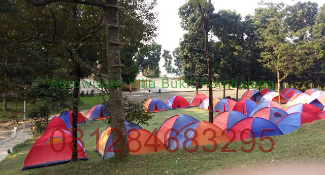 Wisata Camping Hemat kawasan Agrowisata Bukit Hambalang Outbound
