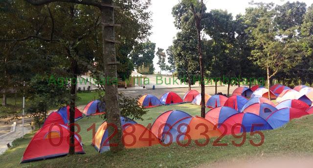 Tempat Camping Sekolah daerah Wisata Hambalang Hills