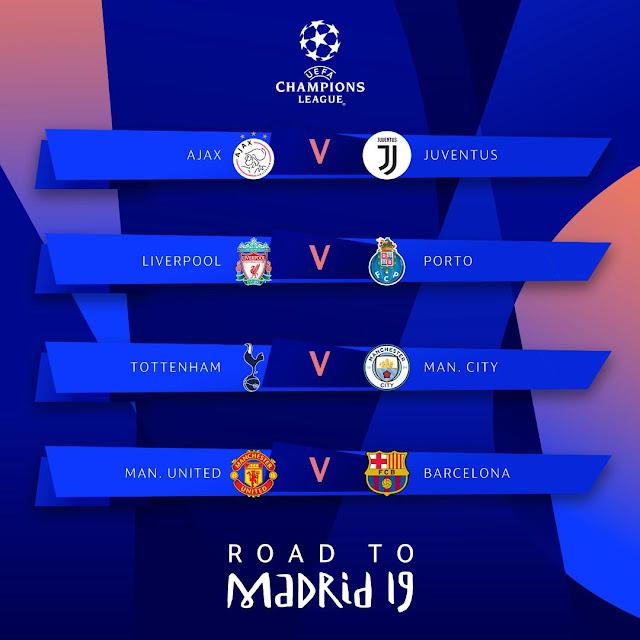 Uefa Champions League Quarter Final Draw 2018