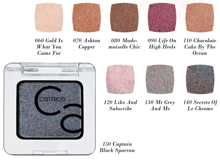 CATRICE Art Couleurs Eyeshadow metallic