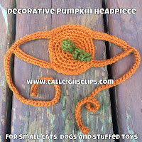 Decorative Pumpkin headpiece