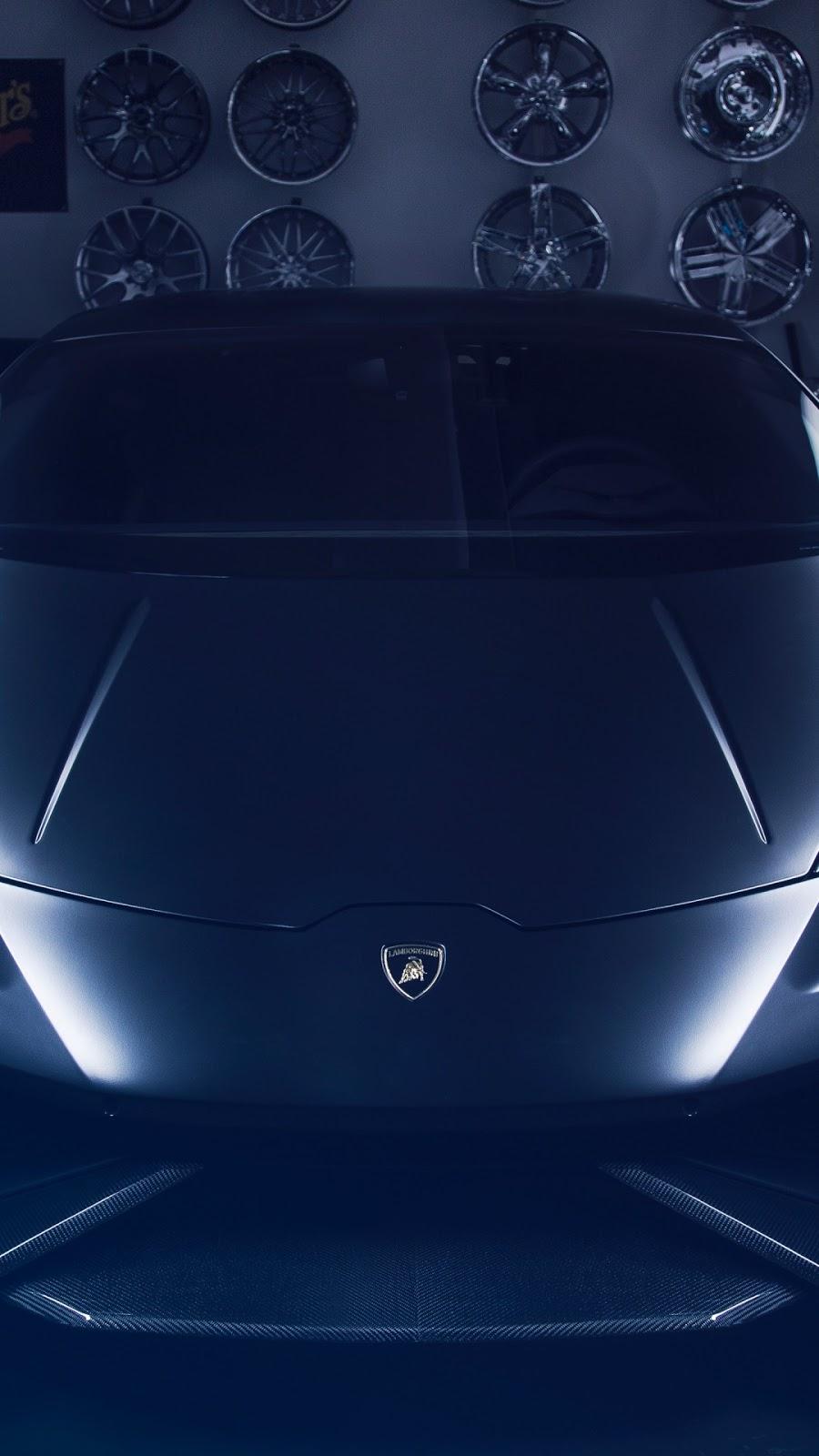 Papel de parede grátis Lamborghini Huracan na Oficina para PC, Notebook, iPhone, Android e Tablet.