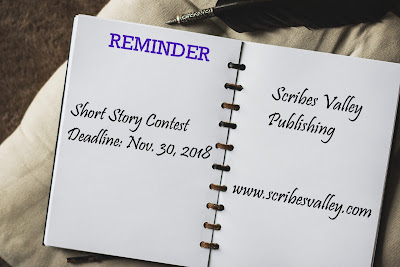Enter the Scribes Valley Short Story Contest
