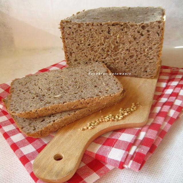 Chleb gryczano - orkiszowy na drożdżach