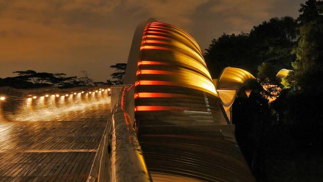 Henderson Waves Bridge Tempat Wisata di Singapura : tempatwisata.biz.id