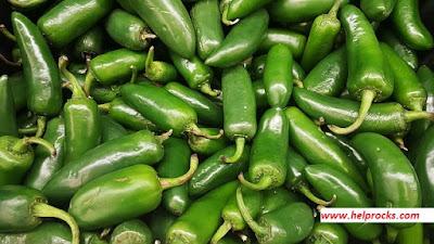 Green Chili- - ग्रीन  चिली हरी मिर्च