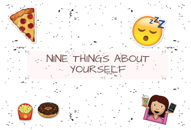 DAY 2 : NINE THINGS ABOUT YOURSELF