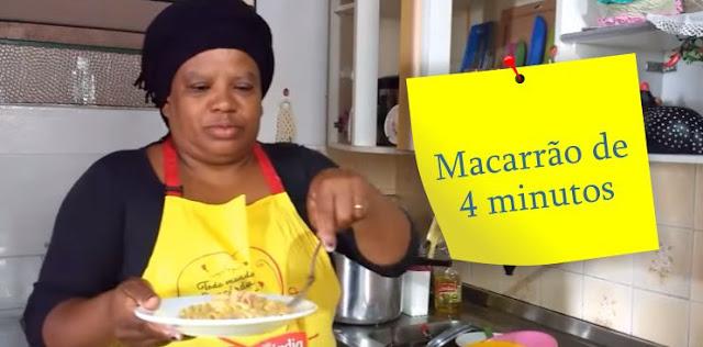 Macarrão 4 minutos
