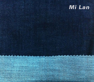 Vải jean T/R thun nữ W68 ( Hàng giặt)