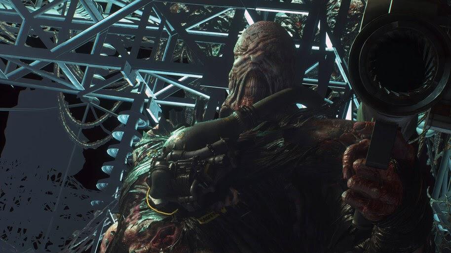 Nemesis, Rocket Launcher, Resident Evil 3, 4K, #7.1691