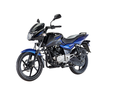 Bajaj Pulsar 150 DTSi left side view Blue image