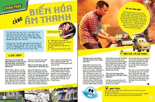 Dàn trang Tạp chí - Kim Thoa- Học viên lớp đồ họa ngắn hạn Hà Nội thiết kế