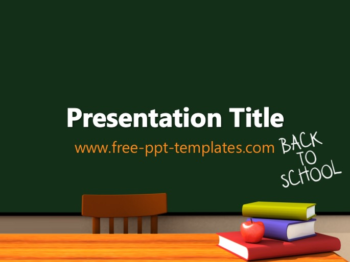back to school pp template, Powerpoint templates