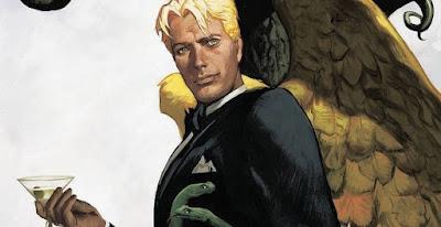 El personaje de Lucifer inspirado por David Bowie.