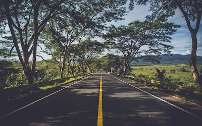 road in summer widescreen resolution hd wallpaper