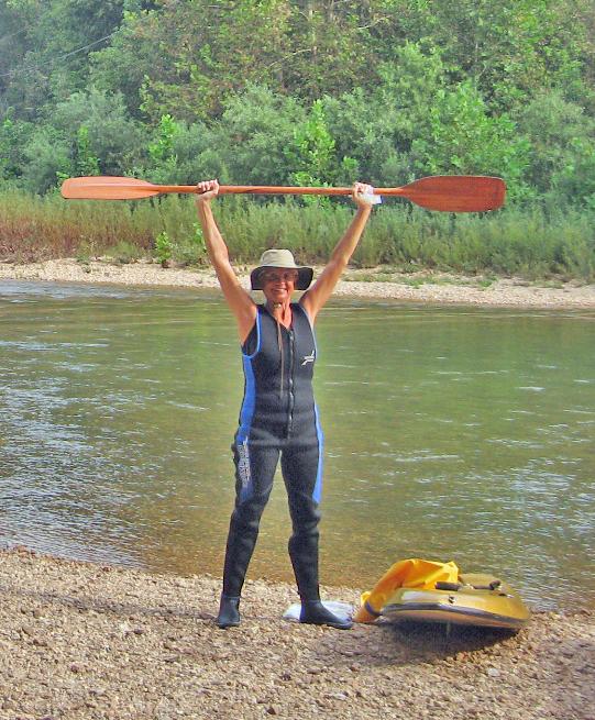 La lair on wheels ozark national scenic riverways for K9 fishing line
