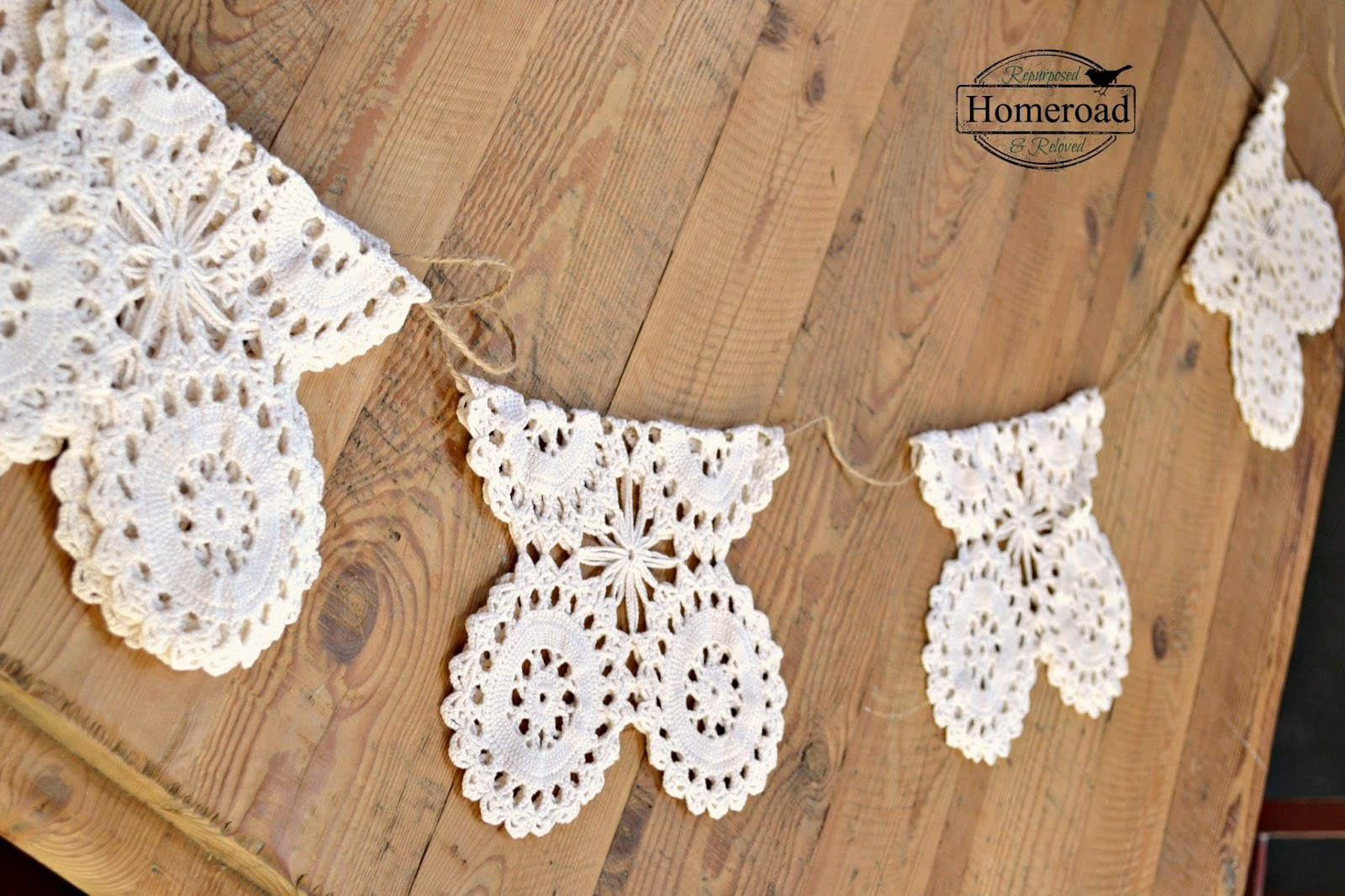Vintage-crocheted-doily-garland www.homeroad.net