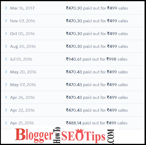 instamojo payment, income proof, blogging in india