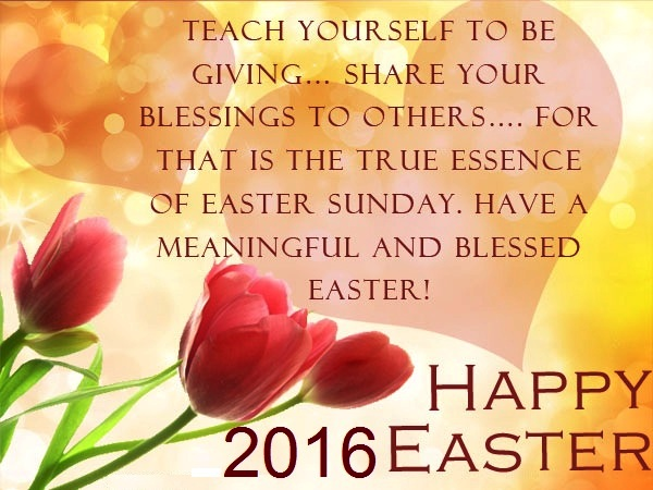 Easter Sunday Display Pictures 2016 for Whatsapp Facebook Free – Easter Greeting Card Sayings