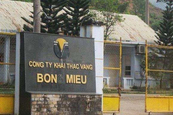 Công ty khai thác mỏ vàng Bồng Miêu