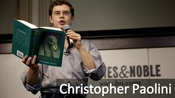El exitoso escritor Christopher Paolini