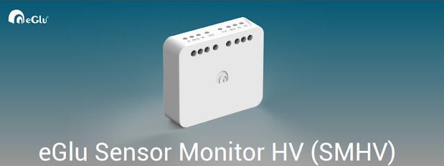 eGlu Smart Home Sensor Monitor HV