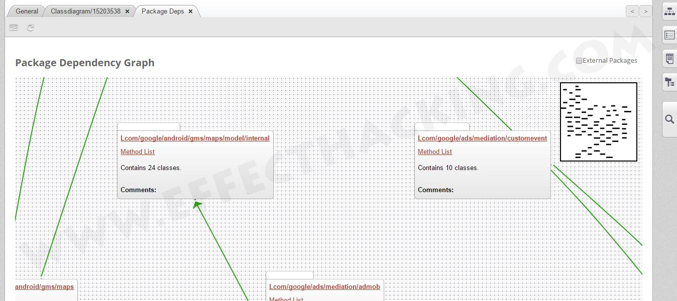 Package Dependency Graph Screenshot