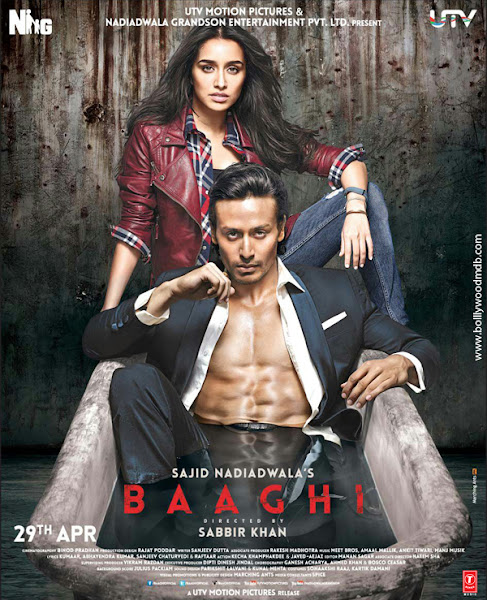 Baaghi 2016 720p Hindi BRRip Full Movie Download extramovies.in , hollywood movie dual audio hindi dubbed 720p brrip bluray hd watch online download free full movie 1gb Baaghi 2016 torrent english subtitles bollywood movies hindi movies dvdrip hdrip mkv full movie at extramovies.in
