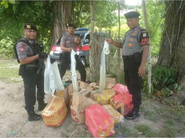 Polisi Sita 400 Liter Sopi dari Malteng dan SBB