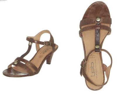 sandalias de tacon marrones