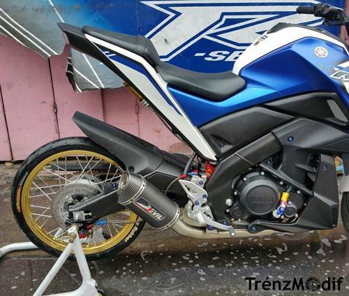 Modifikasi Motor Yamaha Xabre Velg Jari Jari