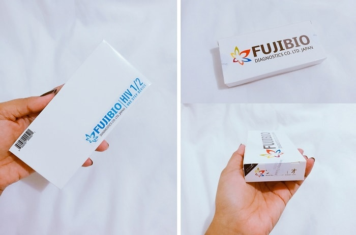 FUJIBIO HIV test kit review