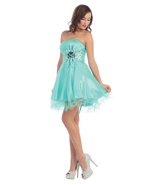 vestidos cortos de fiesta para mujeres bajitas