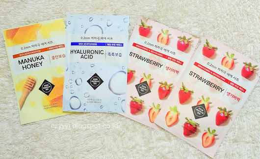 Review Etude House 0.2 Therapy Air Mask - Strawberry, Green Tea, Manuka Honey, Hyaluronic Acid