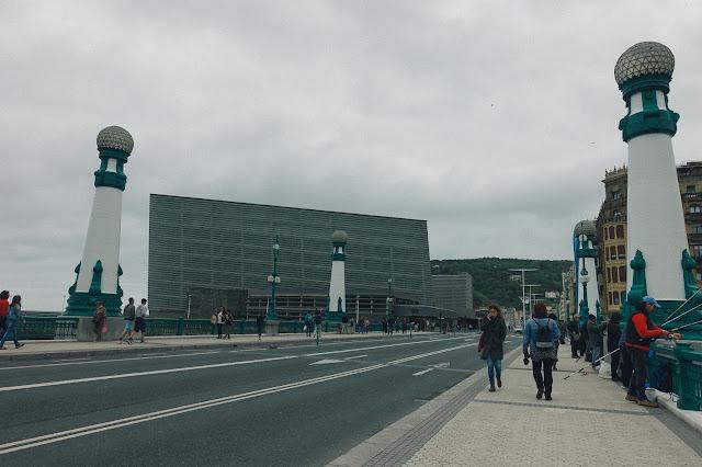 クルサール橋(puente del Kursaal)