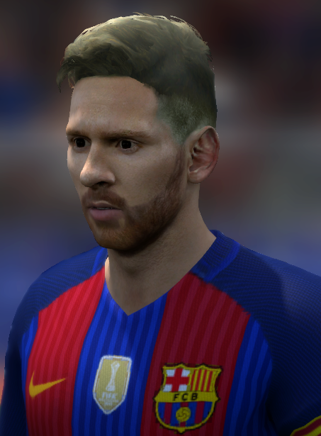 Tremendous Fifa Ricardero Messi New Hair Style Fifa14 Hairstyle Inspiration Daily Dogsangcom