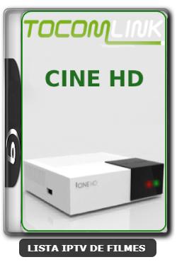 Tocomlink Cine HD Nova Atualização Satélite SKS Keys 61w ON V1.055 - 23-03-2020