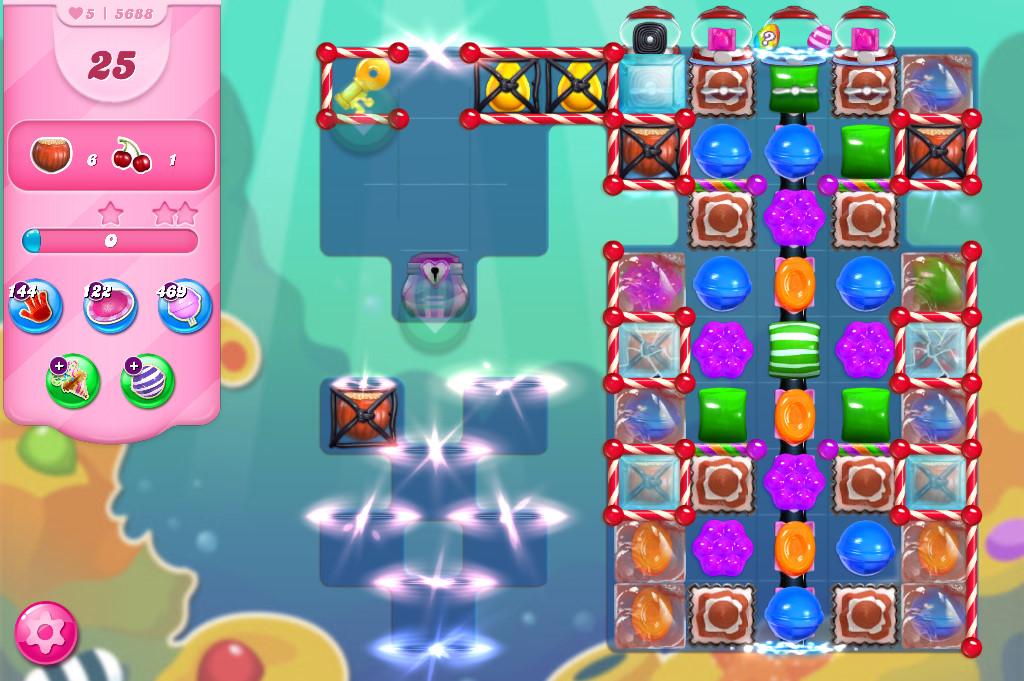 Candy Crush Saga level 5688