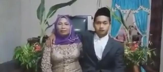 Cowok Berusia 23 Tahun Ini Nikahi Nenek Usia 67 Tahun, Cintanya Bikin Viral
