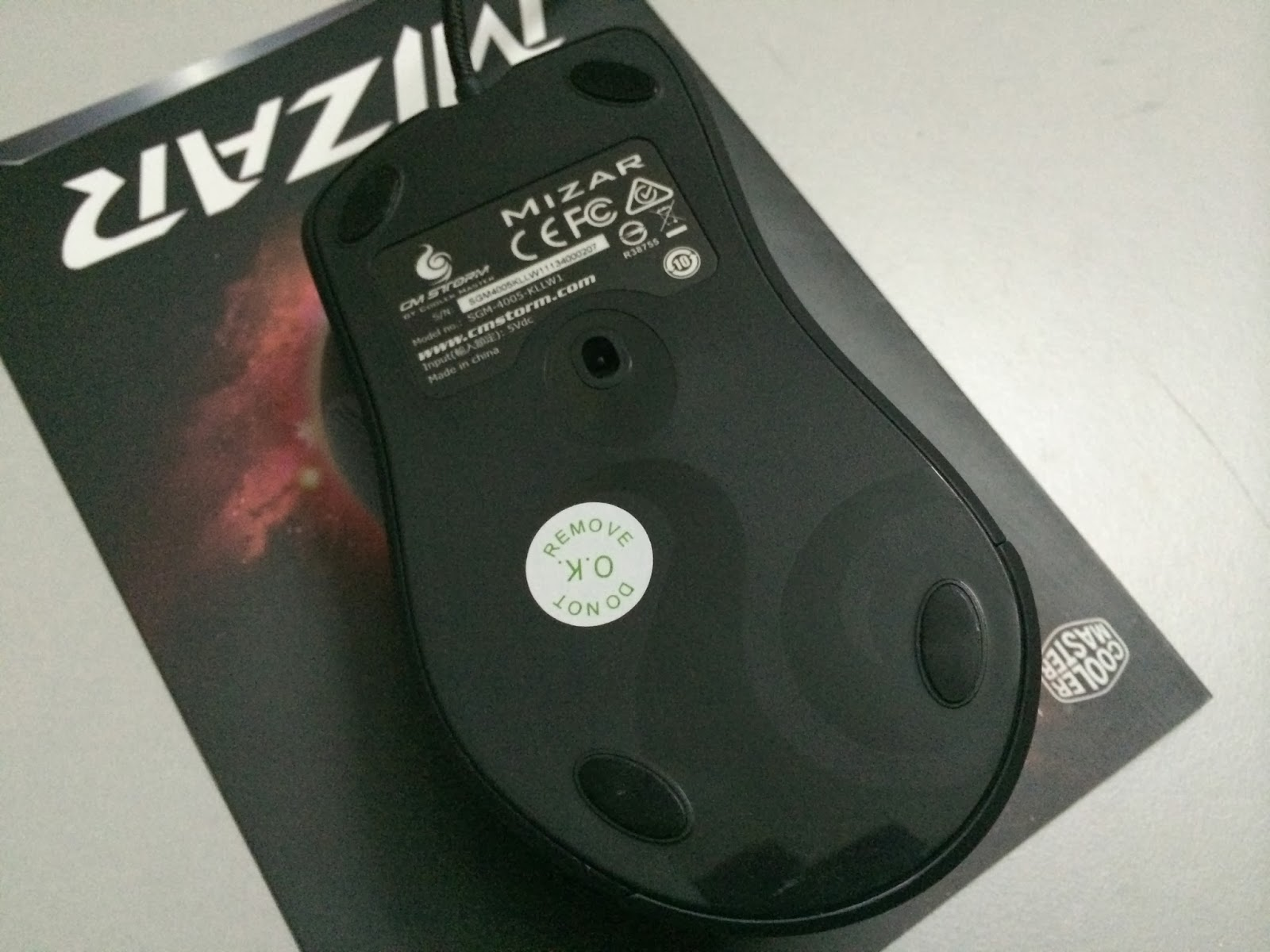A Sneak Preview On The CM Storm Mizar Laser Gaming Mice 34
