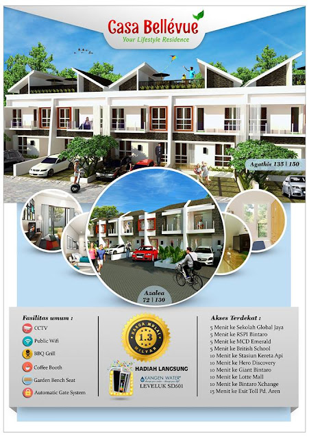 Rumah dijual Bintaro Sektor 9 1 Milyar