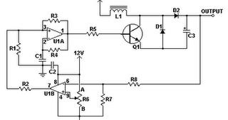 Diagram circuit Source: DC DC Converter 12V to 24V